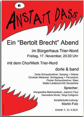 Plakat / Konzertwerbung