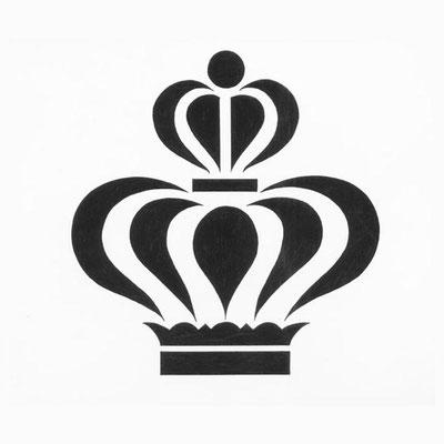 Logo für ein Pflegeprodukt (Federzeichnung/Tusche)