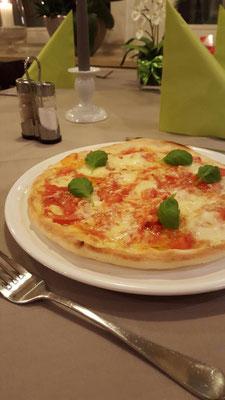 So appetitlich wie diese hier sehen alle Pizzen im Da Capo aus, wenn sie die Küche verlassen.