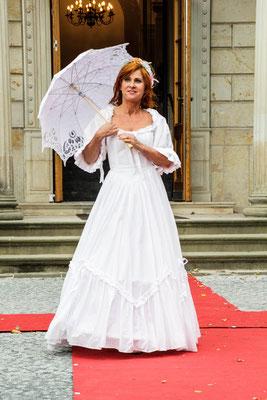 Laura Ashley Vintage Hochzeitskleid weiß