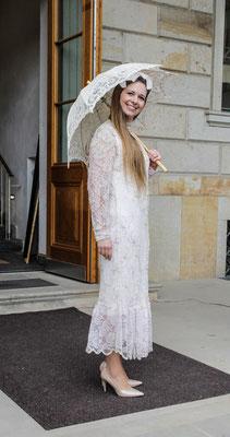original Vintage Hochzeitskleid