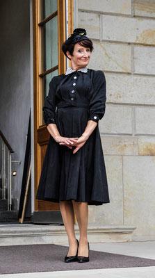 Vintage original 30er Jahre Kleid schwarz
