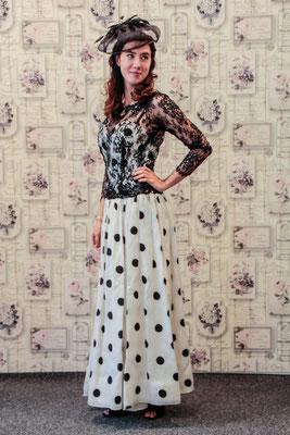 True Vintage Hochzeitskleid