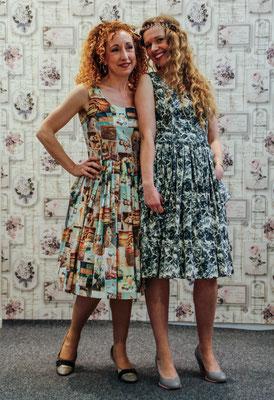 50er Jahre Sommerkleid klennes