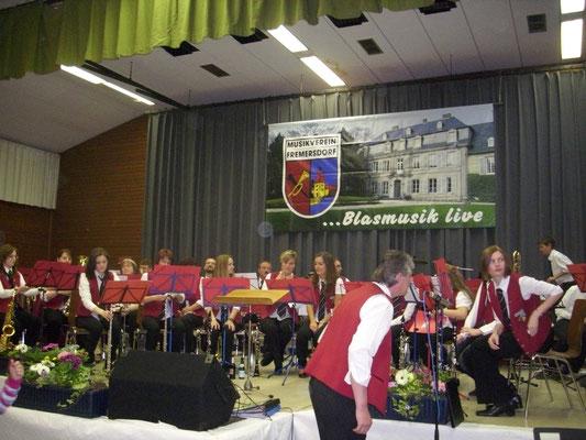 2011 Konzert Musikverein Fremersdorf (Copyright Iris Schütz)
