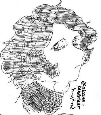 頻尿さんより、ゴーシュ。頻尿さんの絵柄に落とし込まれていて作中にお邪魔してるよう。あと髪のふわふわ具合が描写が細かくて好きです。