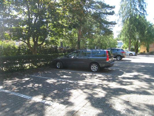 Le parking, vous aurez un parking privé