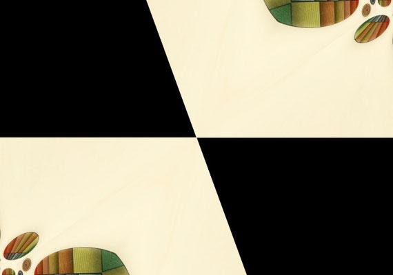 2020-04-28 « Oppositions », peinture numérique, 30 x 21 cm ©sylvie lander