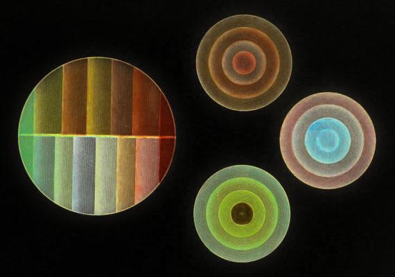 2020-05-07 « Cercles », peinture numérique, 30 x 21 cm ©sylvie lander
