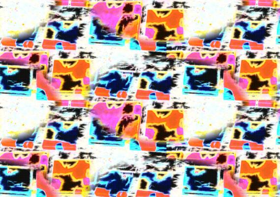 2020-04-18 « Sublimation », peinture numérique, 30 x 21 cm ©sylvie lander
