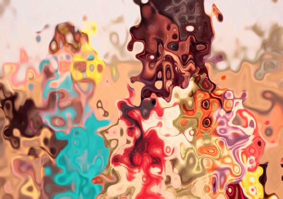 2020-05-09 « Métamorphose », peinture numérique, 30 x 21 cm ©sylvie lander