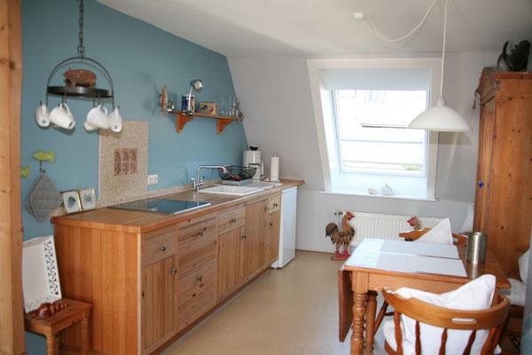 Westerheide Sylt Pieper Wohnung 1 Küche & Essbereich
