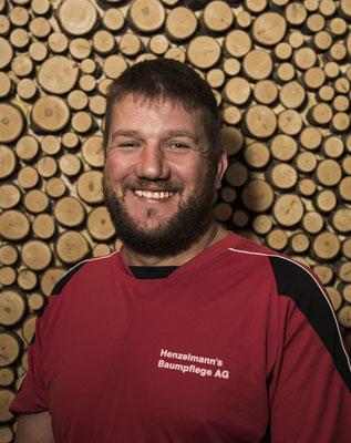 Mischa Hunsperger, Baumpflegeassistent