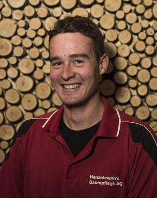 Marco Henzelmann, Baumpflegespezialist FA, Forstwart EFZ, Leiter Sicherheitsholzerei