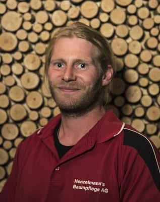 Andy Zurbrügg, Baumpflegespezialist FA, Landschaftsgärtner EFZ