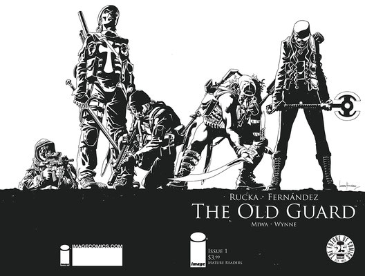 Black and White Wraparound Cover by Leandro Fernández