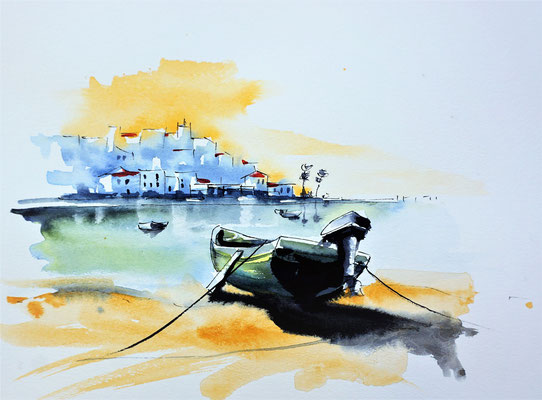 croquis de Didier Georges / watercolor sketching