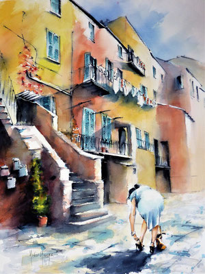 watercolor / aquarelle de Didier GEORGES