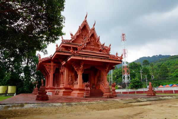 der rote Tempel (Ton)