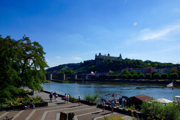Blick auf die Festung, Würzburg