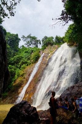 Wasserfall auf Samui