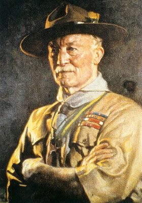 Robert Baden-Powell, fondatore degli scout