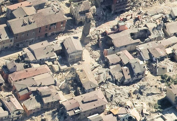 Using drones greatly increases safety when completing aerial surveys of disaster zones