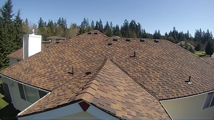 Roof inspections using drones remove all risk from this assessment
