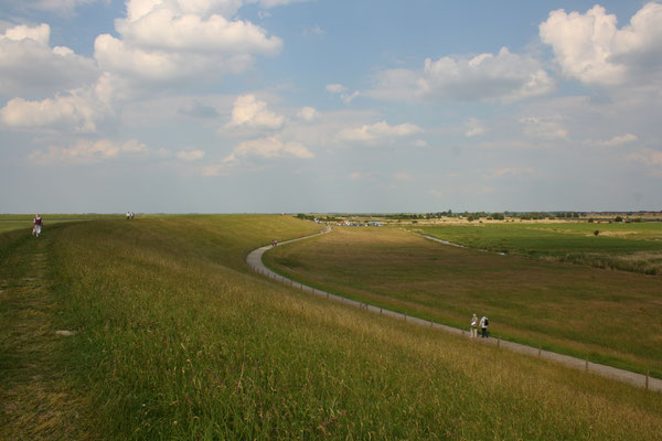 1 Weite Ostfieslands am Deich/Wide dike at Ostfiesland