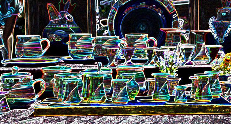 14 Leuchtende Töpfereien/Luminous pottery