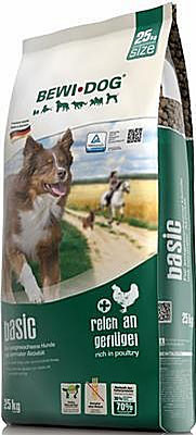 Bewi Dog Basic für sportlich geführte Hunde -> 25kg für 42,75 €