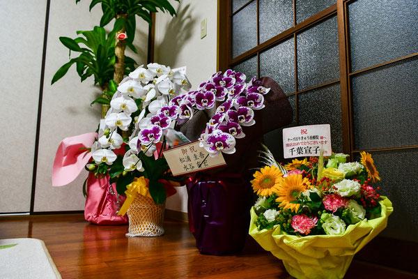 素敵な絵画やお花の数々、ありがとうございました