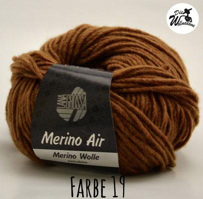 Merino Air Farbe 19 braun Lana Grossa Angebot