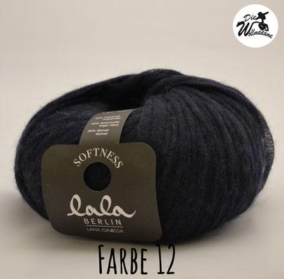 Lala Berlin Softness Farbe 12 dunkelblau Lana Grossa Angebot