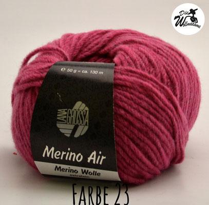 Merino Air Farbe 23 pink Lana Grossa Angebot