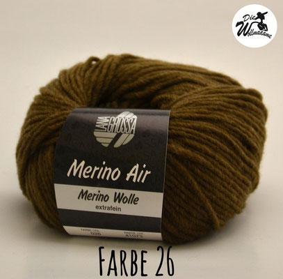 Merino Air Farbe 26 braun Lana Grossa Angebot