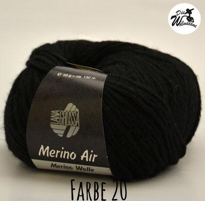 Merino Air Farbe 20 schwarz Lana Grossa Angebot