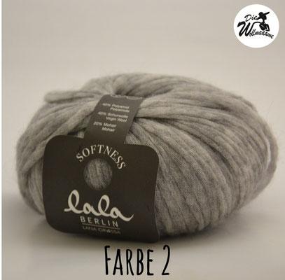 Lala Berlin Softness Farbe 2 hellgrau Lana Grossa Angebot