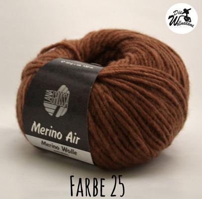 Merino Air Farbe 25 braun Lana Grossa Angebot