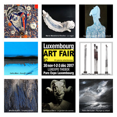 2017 - Salon Lux Art Fair - Luxembourg - galerie French Arts Factory