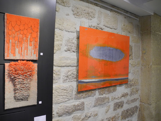 "2017 - galerie French Arts Factory - exposition ""L'instinct de la couleur"""