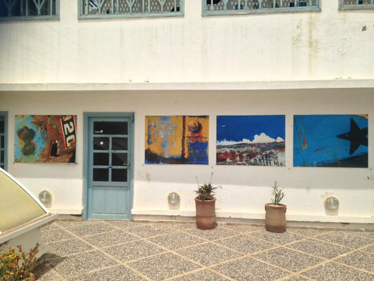 2018 - Terrasse de l'Institut Français d'Essaouira - Maroc