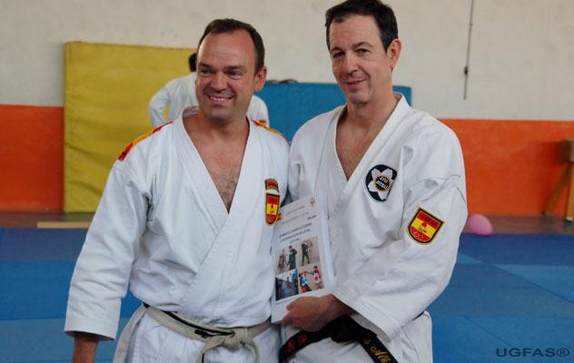 Los maestros de primer nivel D. Carlos Alba y D. Jose Robles