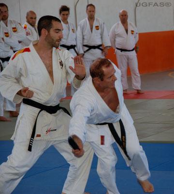 Clase de Defensa Personal impartida por Angel Gasco