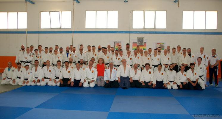 Clase Magistral impartida por la Comisión Nacional Aikido