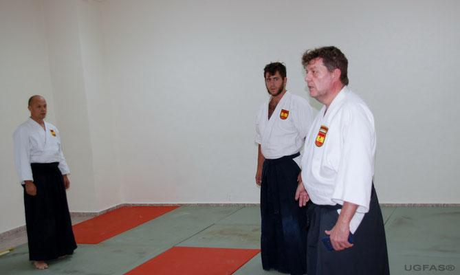 Clase de Akido con el Maestro Nacional Kike