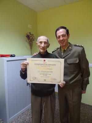 D. Jose Manuel Garcia y el Coronel D. Carlos Alba