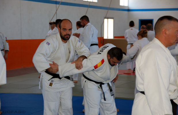 Clase de Defensa Personal impartida por Carlos Alba