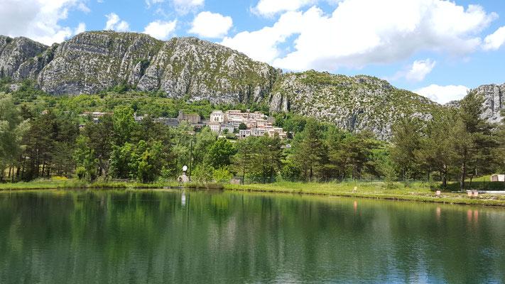 les lacs de pêche de St Auban