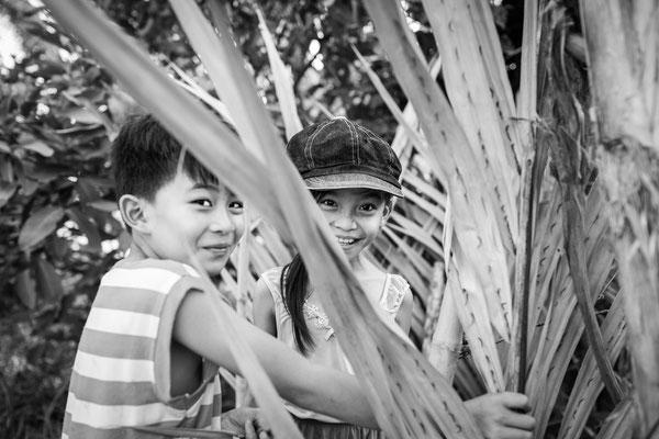 Bei Spielen im Reisfeld